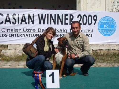 Caucasian Winner 2009